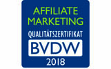 Affiliate-Zertifikat